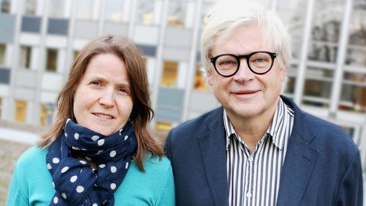 Louise Epstein och Thomas Nordegren.