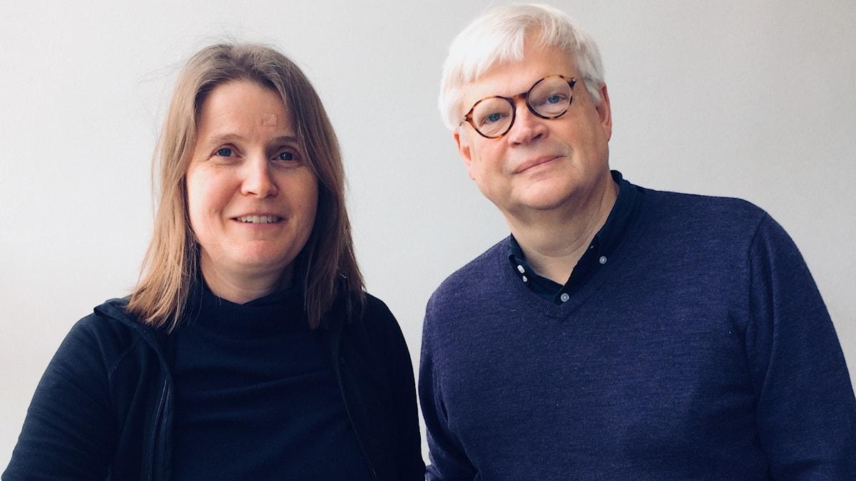 Thomas Nordegren & Louise Epstein. Foto Helena Huhta.