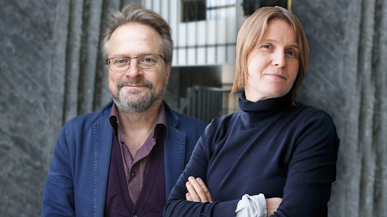 Karsten Thurfjell och Louise Epstein.