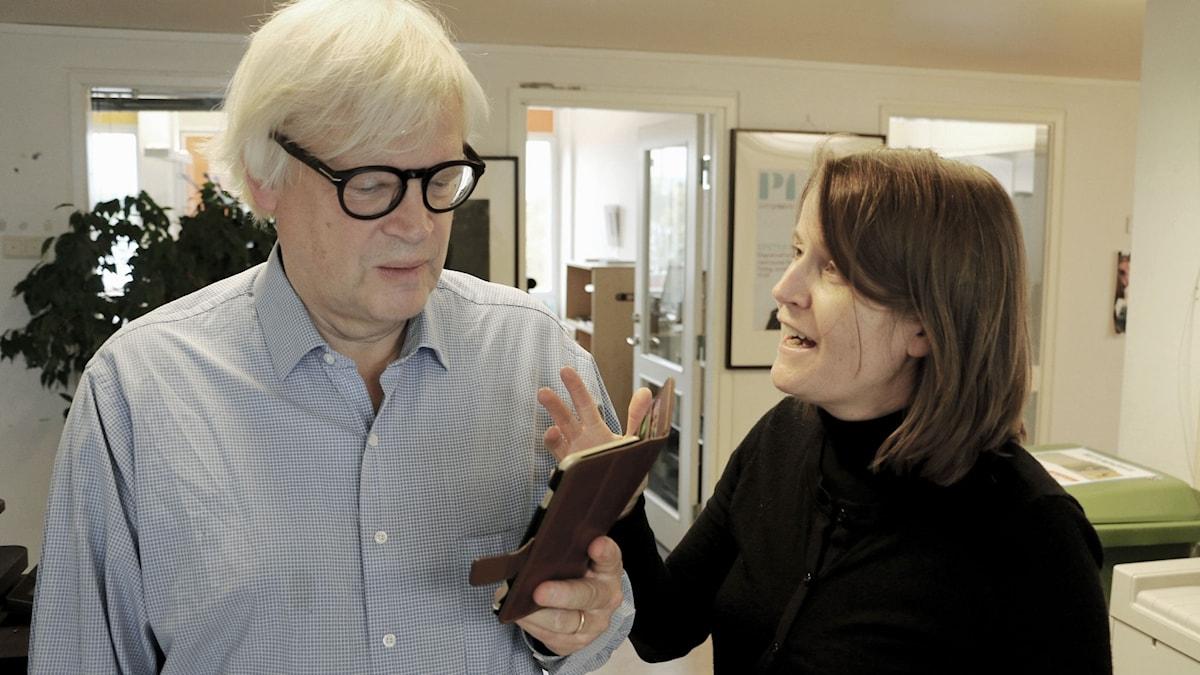 Thomas Nordegren & Louise Epstein. Foto: Björn Andersson.
