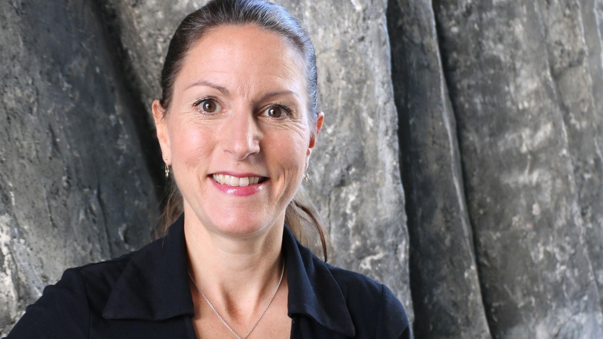 Louise Brown, korruptionsexpert, författare.