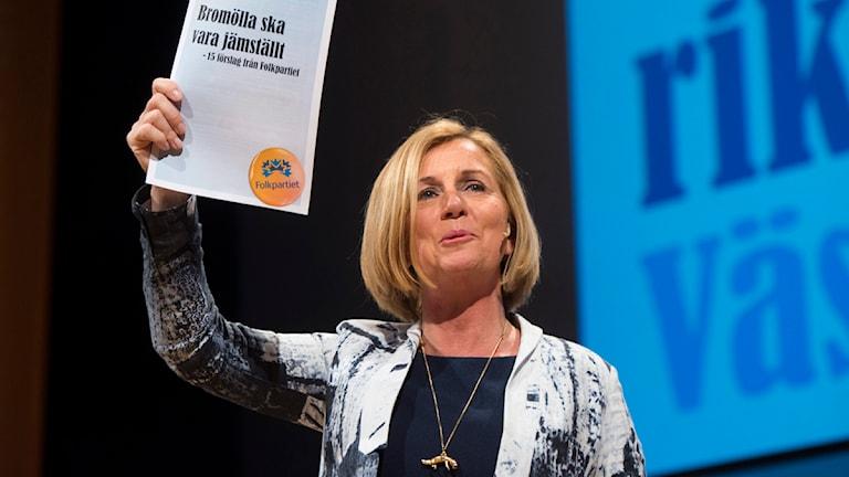 Hur jämställd är jämställdhetsministerns politik? Foto:Fredrik Sandberg / Scanpix