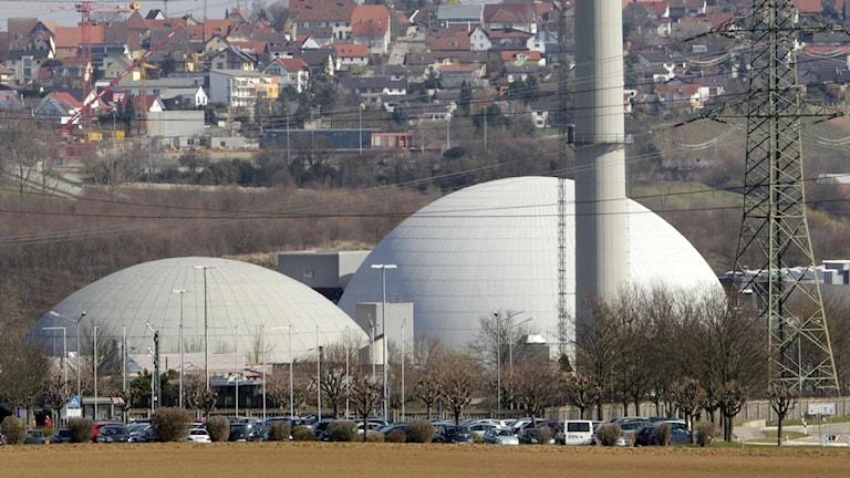Tyska kärnkraftverk snart ett minne blott.