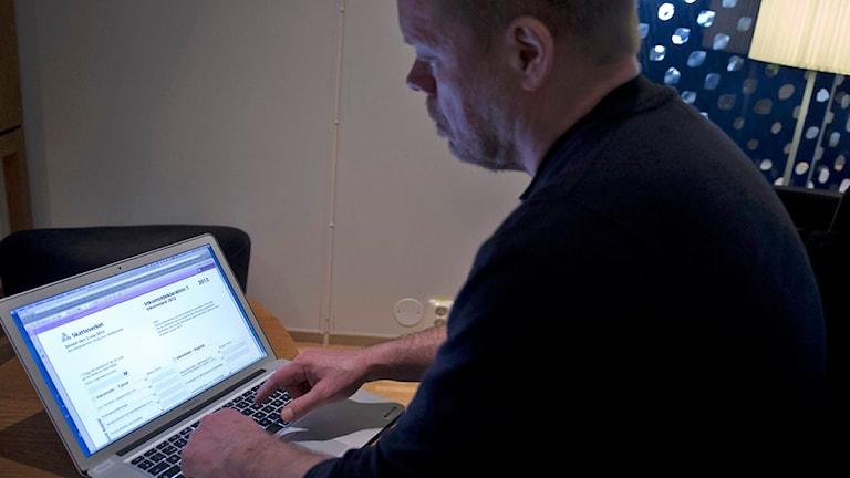 Skatteverkets hemsida är nog svår att bli upphetsad av. Foto: Bertil Enevåg Ericson / Scanpix