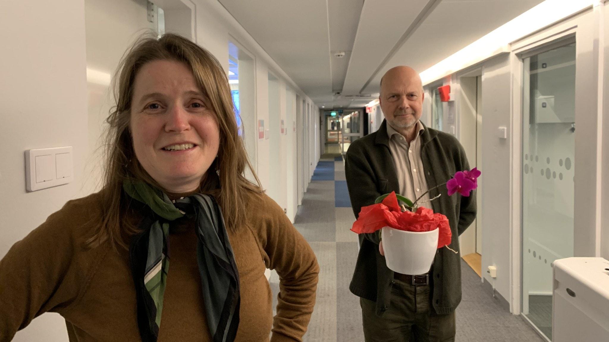 Louise Epstein och Gunnar Bolin.