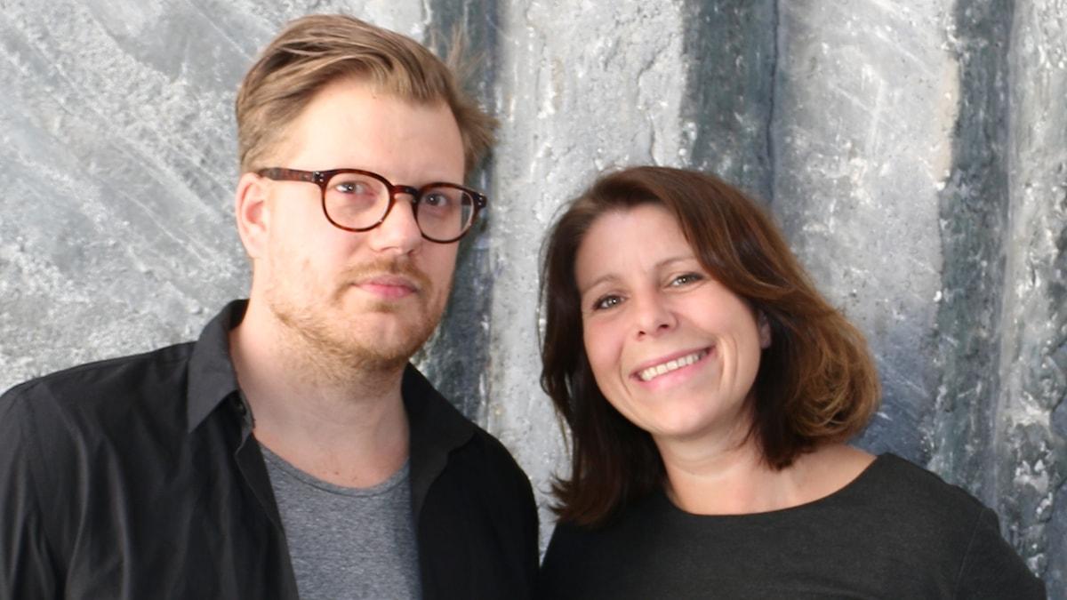 Martin Sjöstedt och Vivianne Buczek