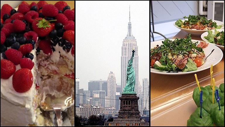 Gräddtårta, New York eller pastasallad. Två av tre är Thomas Nordegrens största skräck. Foto: Sveriges Radio