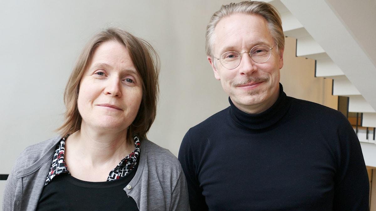 Louise Epstein och Daniel Alling.