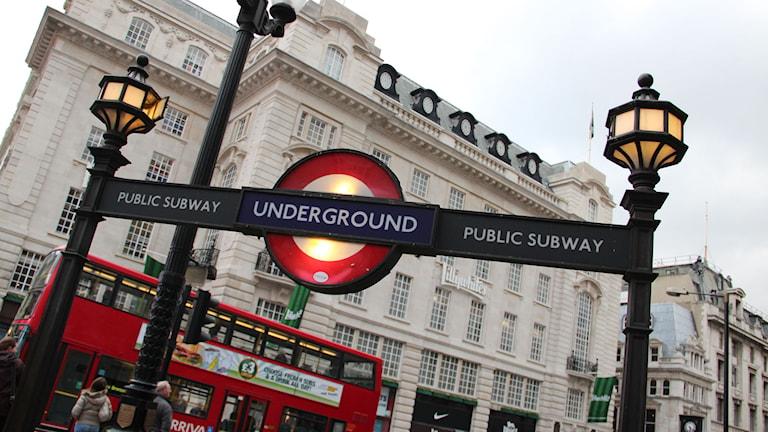 London. Foto: SVT Bild