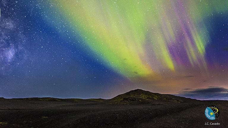 Bardarbunga på 50 kilometers avstånd. Foto: StarryEarth/Flickr/https://flic.kr/p/oTawU7 / CC BY 2.0