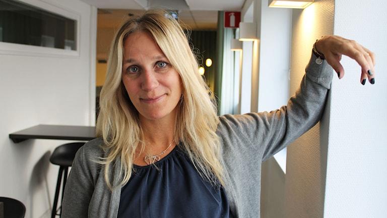 Ann Söderlund. Foto: Ronnie Ritterland / Sveriges Radio