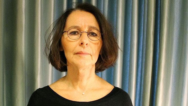 Författaren Emilia Degenius. Foto: Ronnie Ritterland / Sveriges Radio