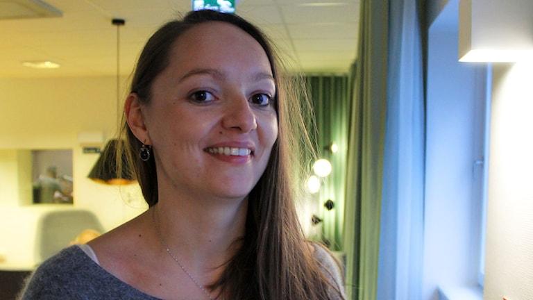 Ekaterina Kalinina som skrivit en ny avhandling i ämnet Sovjetnostalgi. Foto: Ronnie Ritterland / Sveriges Radio