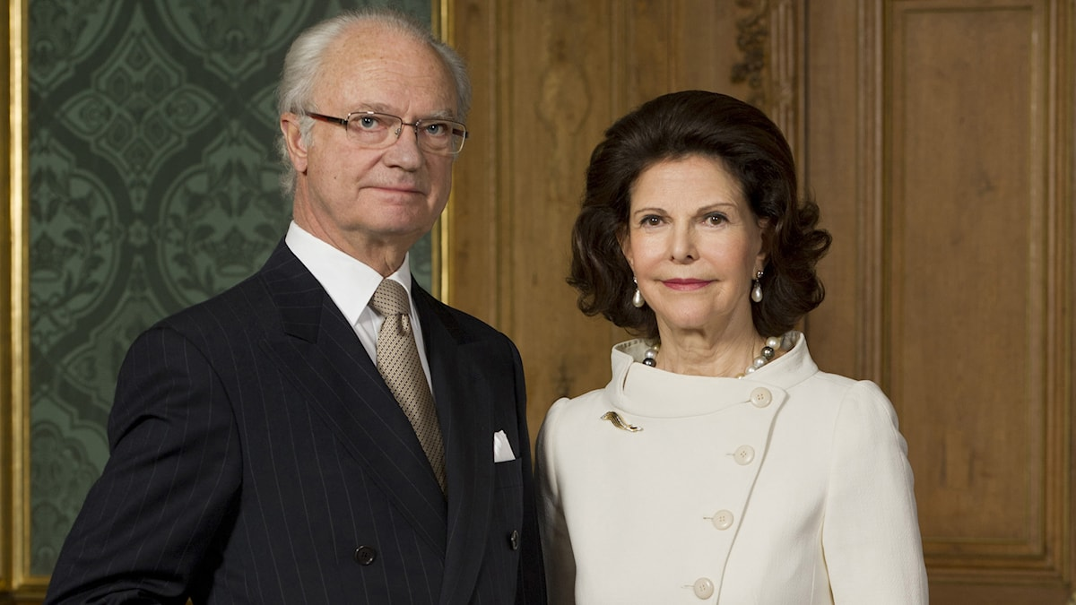 H.M. Konung Carl XVI Gustaf, H.M. Drottning Silvia / Kungl. Hovstaterna. Foto: Alexis Daflos