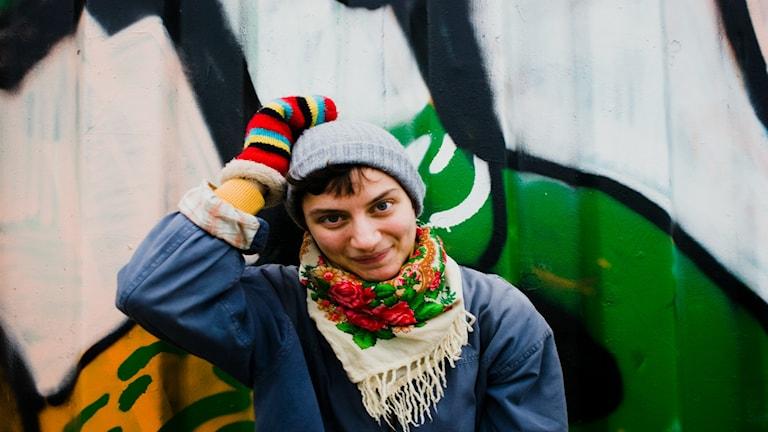 Nino Mick, estradpoet och sexualpolitisk aktivist. Foto: Masa Bezra.