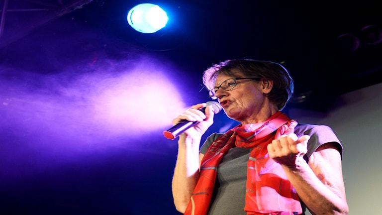 Gudrun Schyman. Foto: Maja Suslin/TT