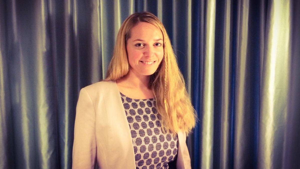 Johanna Jönsson från Centerpartiet