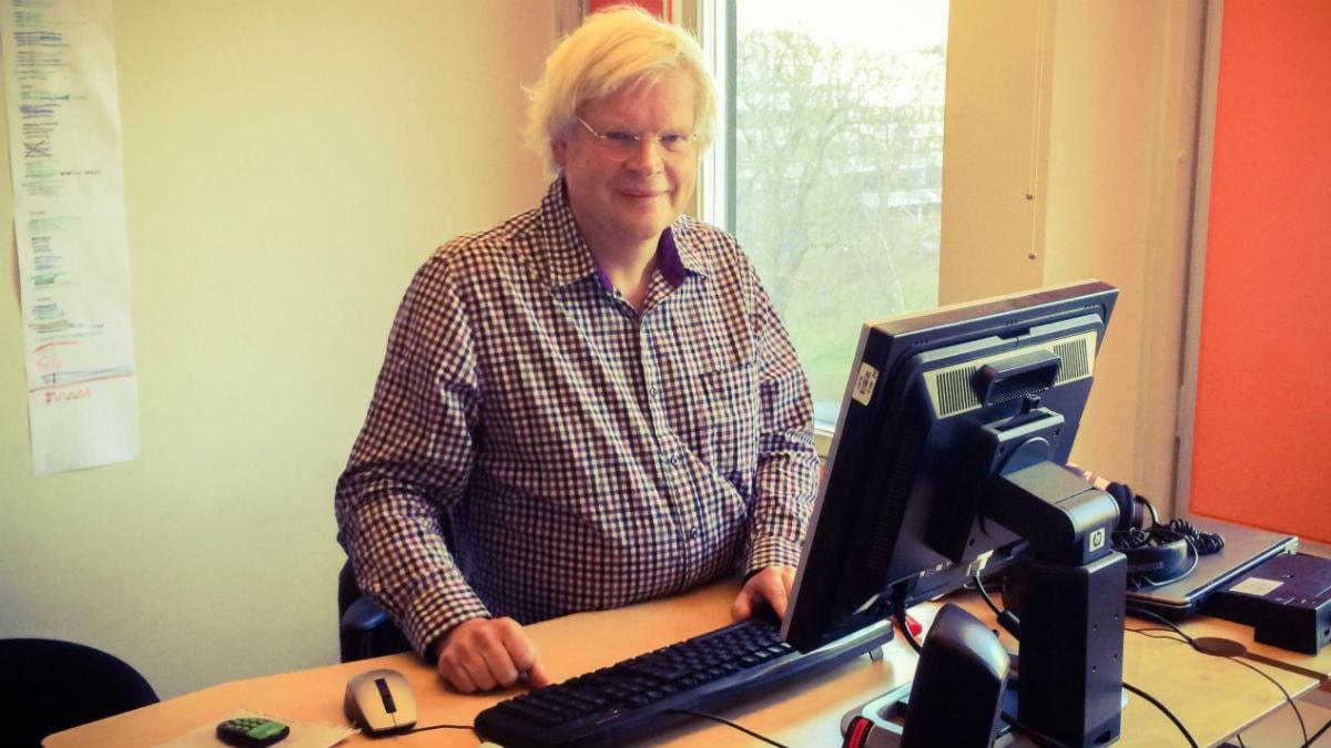 Thomas Nordegren på redaktionen