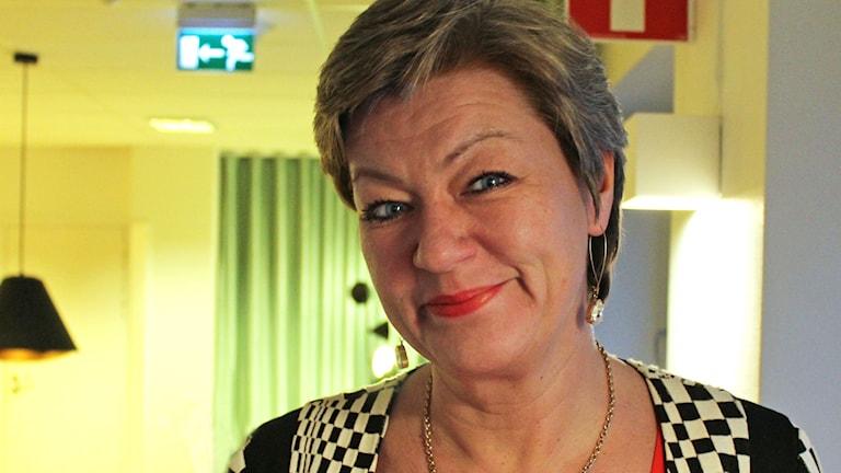 Labor Minister Ylva Johansson. Photo: Ronnie Ritterland / Sveriges Radio