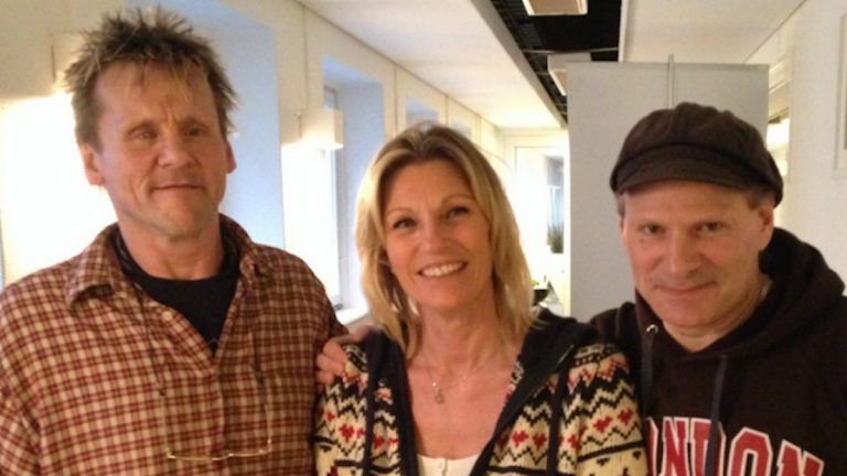 Lasse Wigbrant, Connie Don Marco och Niklas Ristarp Foto: SR