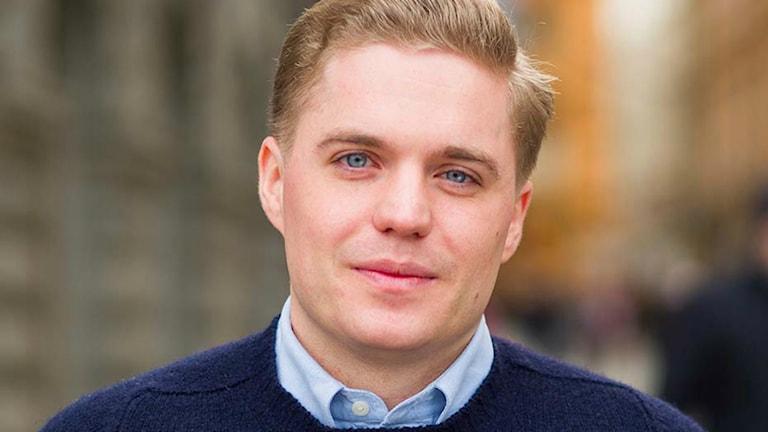 Per Nilsson, kommunikations- och analyschef för moderaterna. Foto: Fredrik Wennerlund