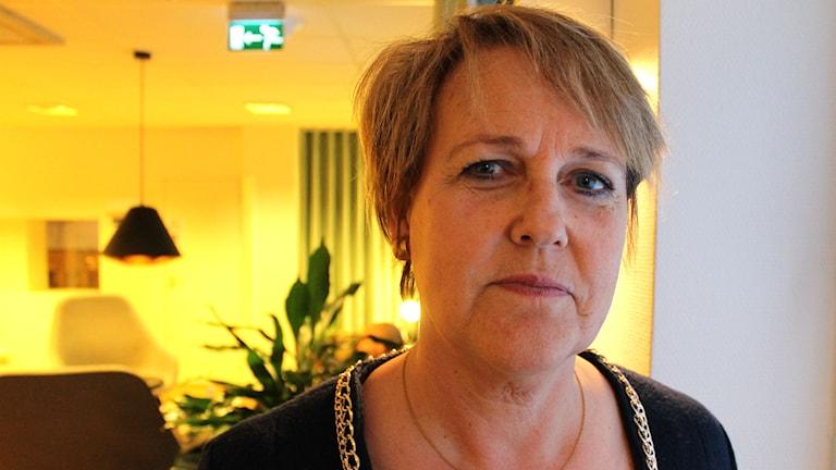 Desirée Pethrus, Kristdemokraterna. Foto: Ronnie Ritterland / Sveriges Radio