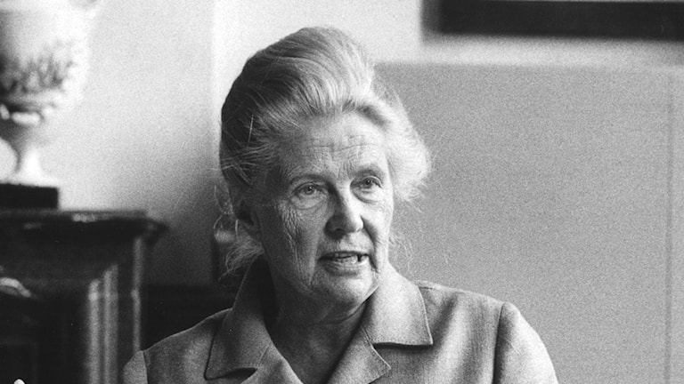 Alva Myrdal. Foto: TT