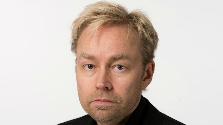 Fredrik Furtenbach, inrikespolitisk kommentator på Sveriges Radio. Foto: Björn Dahlin.