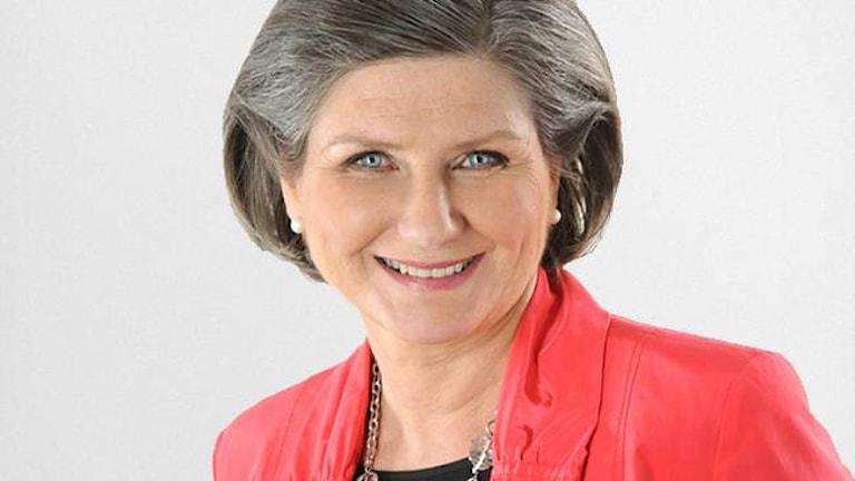 Helen Tronstad, chef för SVT:s väderredaktion. Foto: SVT