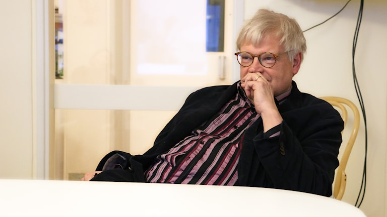 homas Nordegren berätta om hur KGB försökte värva honom till hemliga polisen 1987. Foto: Ronnie Ritterland / Sveriges Radio