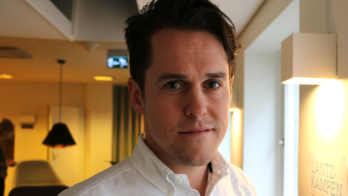 Marcus Norman, generalsekreterare Svenska bandyförbundet. Foto: Ronnie Ritterland / Sveriges Radio