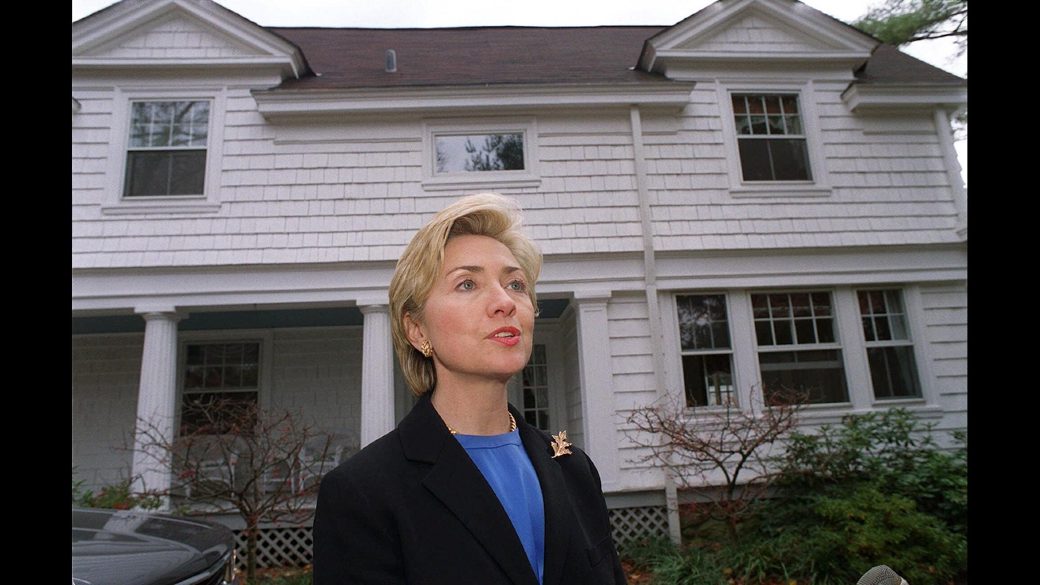 Hillary Clinton år 1999 Foto Stephen Chernin TT