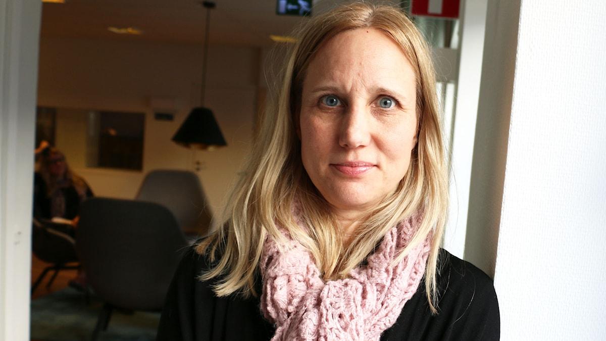 Viveka Hansson. Programdirektör Nyheter & samhälle TV4. Foto: Ronnie Ritterland / Sveriges Radio