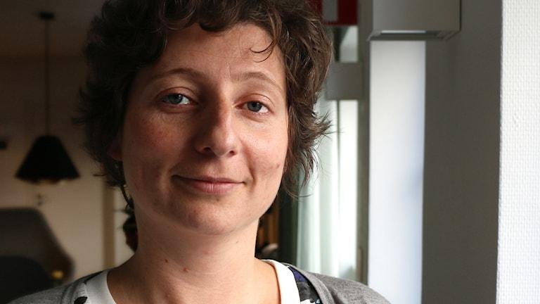 Anna Rogalska Hedlund, jurist på Centrum för Rättvisa. Foto: Ronnie Ritterland / Sveriges Radio