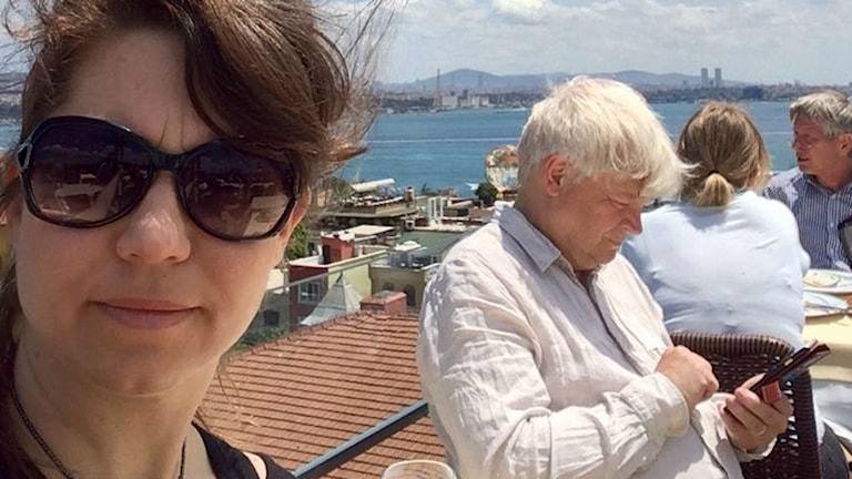 Ülkü Holago och Thomas Nordegren. Foto:Ülkü Holago