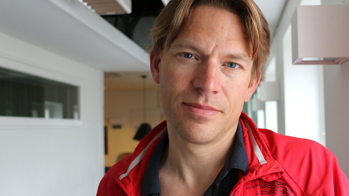 PM Nilsson, ledarskribent Dagens Industri. Foto: Ronnie Ritterland / Sveriges Radio