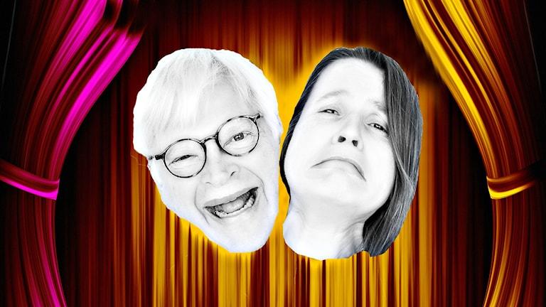 Thomas och Louise blir regisserade av nye Dramatenchefen Eirik Stubö. Foto/illustration: Ronnie Ritterland/Sveriges Radio