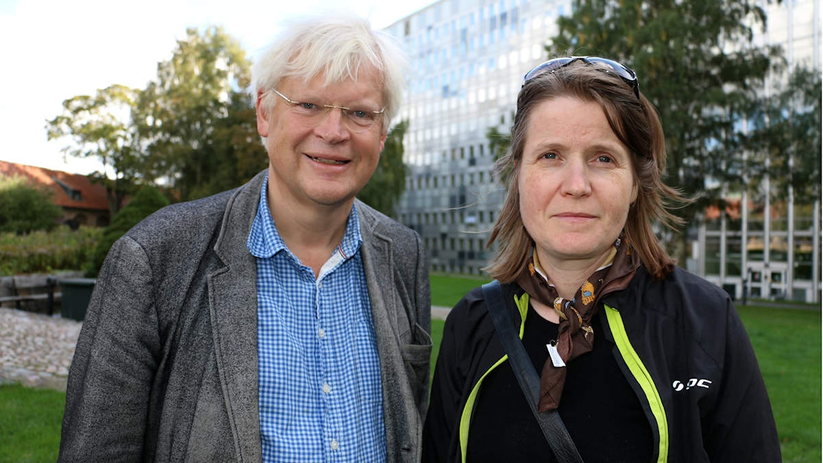 Thomas Nordegren & Louise Epstein. Foto: Ronnie Ritterland / Sveriges Radio