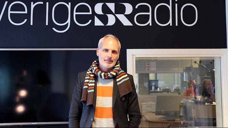 Daniel af Klintberg. Chef för Underhållningsredaktionen på Sveriges Radio. Foto: Sofia French / Sveriges Radio