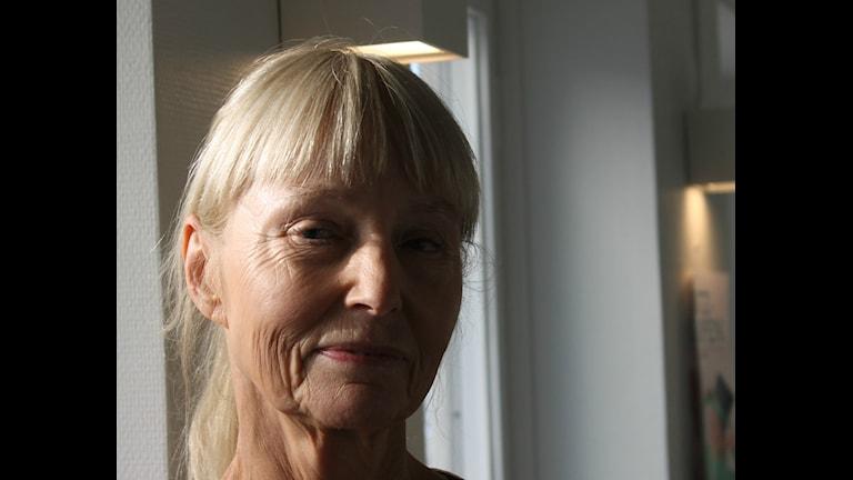Carola Hansson. Foto: Ulrika Lindqvist/Sveriges Radio.