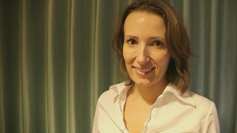 Heidi Stensmyren, läkare och ordförande i Sveriges läkarförbund. Foto: Ronnie Ritterland / Sveriges Radio