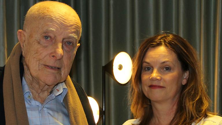 Nils-Petter Sundgren och Helena Lindblad.