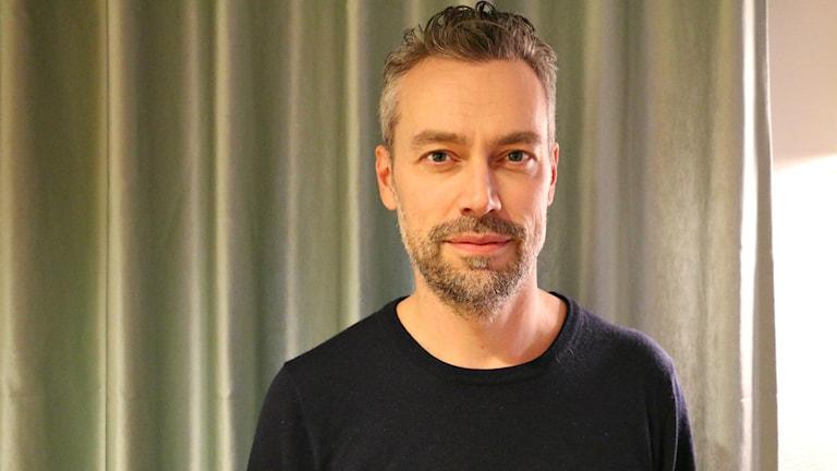 Sveriges Radios kulturchef Mattias Hermansson. Foto: Ronnie Ritterland / Sveriges Radio