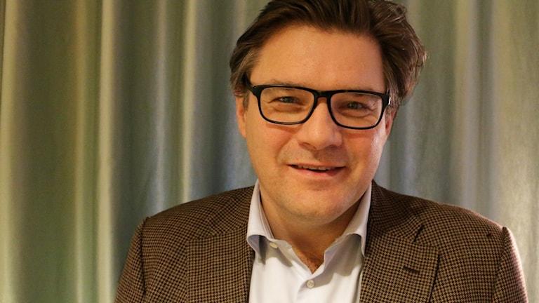 Thomas Nordegren är nyfiken på Jan Helin - SVT:s nya programchef. Foto: Ronnie Ritterland / Sveriges Radio
