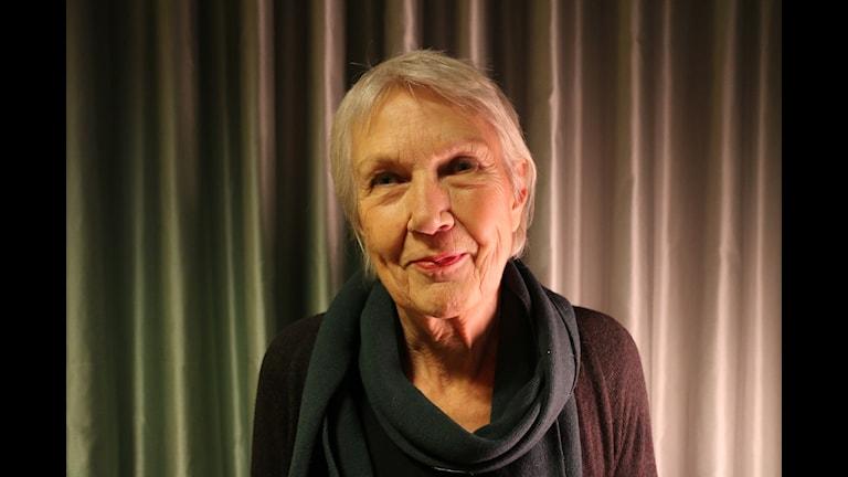 Eva Eriksson, arkitekturhistoriker. Foto: Alfred Wreeby/Sverges Radio