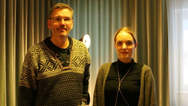 Folke Alin och Johanna Rudström.