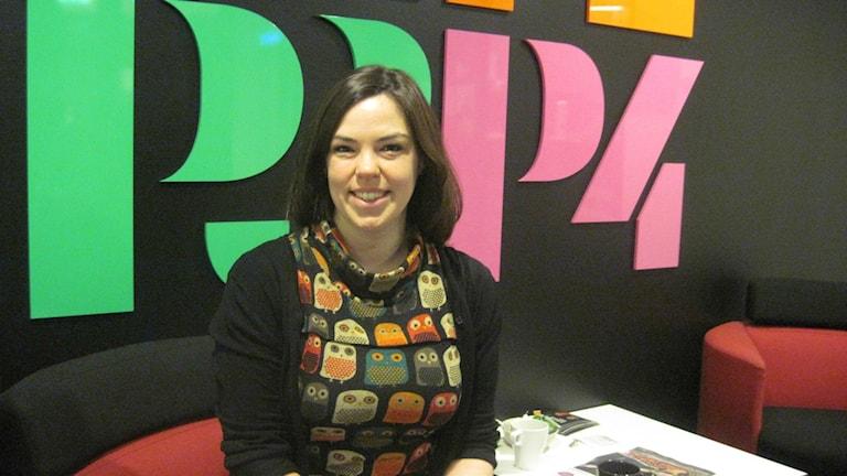 Hannah Griffiths Foto: Helena Sällström SR/P4 Göteborg