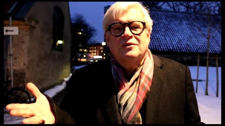 Thomas Nordegren undrar vilka enkla jobb nyanlända med dåliga språkkunskaper och bristfällig utbildning kan få? Foto: Ronnie Ritterland / Sveriges Radio