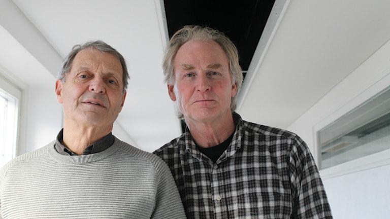 Thomas Adolphson och Anders Falk.