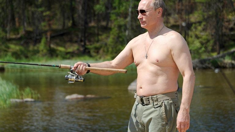 Putin fiskar